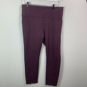 NWT Athleta Mercer Tight L Aubergine